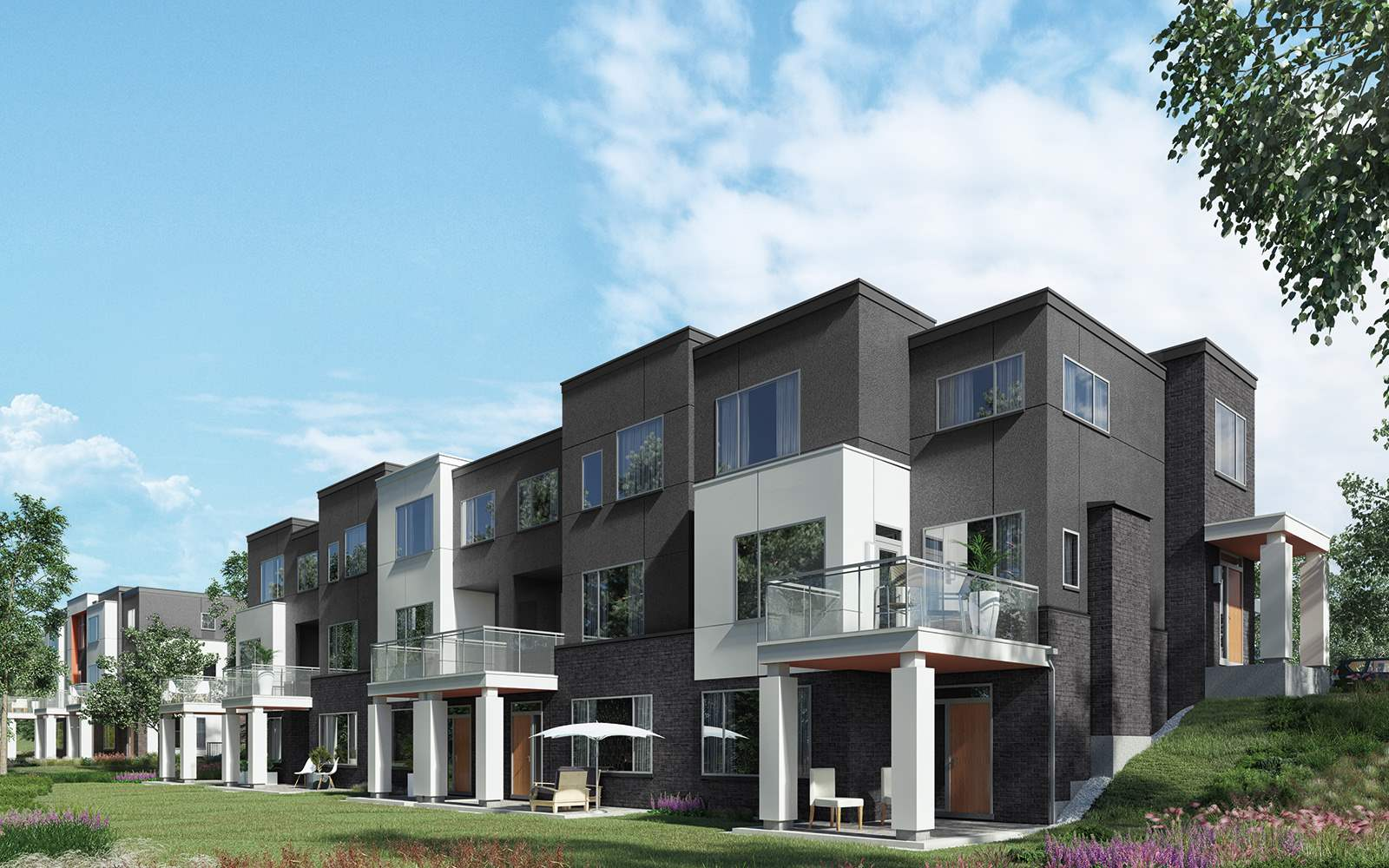 New homes for sale in vaughan for Modern new homes